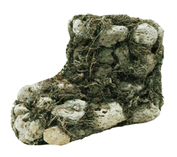 Кашпо плетёное