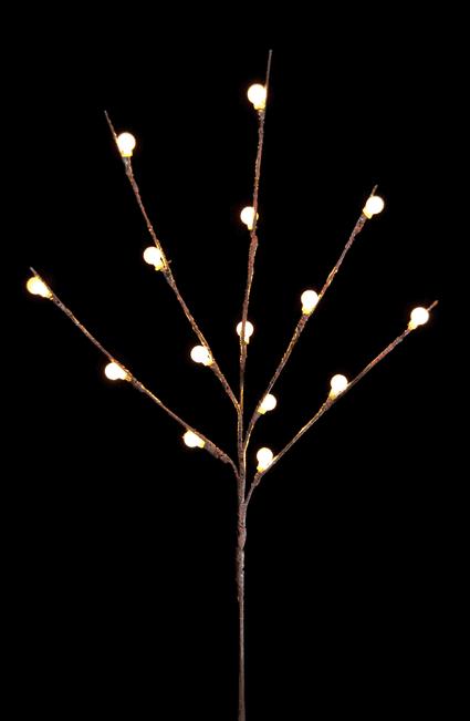 Ветка светящаяся новогодняя (H-66см) DN-39057
