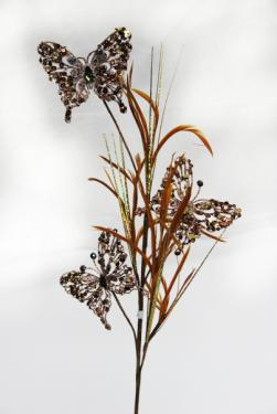 Бабочки-декор новогодний (H-74см) DN-51594
