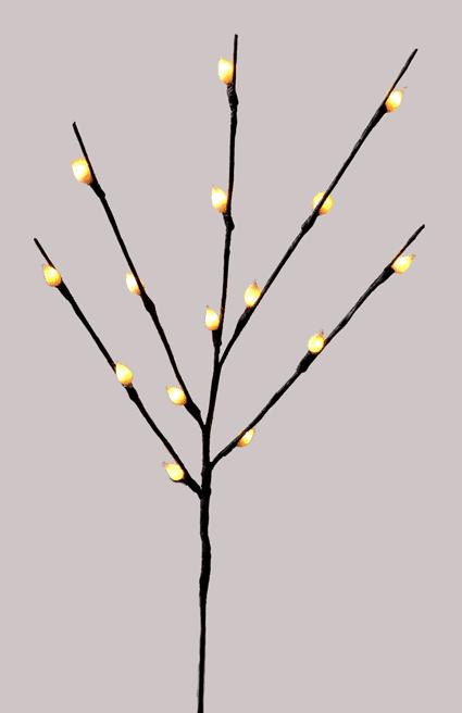Ветка светящаяся новогодняя (H-66см) DN-39056