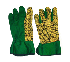 Перчатки садовые 60361 в комплекте 10 пар одного вида