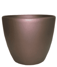 Кашпо (d-18/h-15см) цвет:коричневый PK-35958