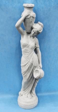 Девушка с кувшином, садовая скульптура, (H-140см) FS-53736