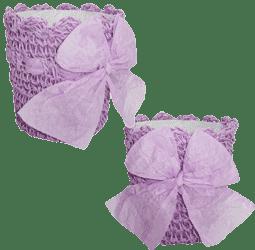 Кашпо вязаное (10*10см) KV-34418