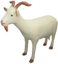 Коза-15.09-фигура садовая(74*90)