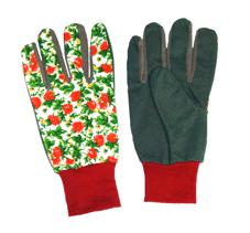 Перчатки садовые 9820 EDKW в комплекте 10 пар одного вида