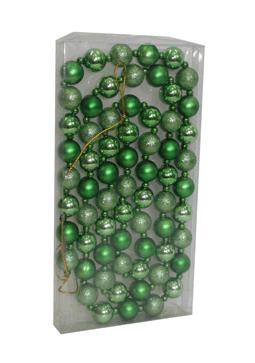 Гирлянда ёлочная из шаров(d-3см*66шт) JNP-091-286