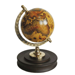 Глобус (12*12*17см) NS-30207