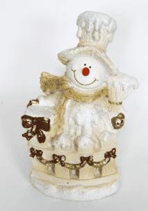 Снеговик (H-39см) - 30.35А