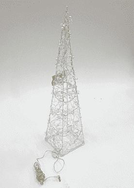 Декор новогодний светящийся (14*14*60см) DN-46404