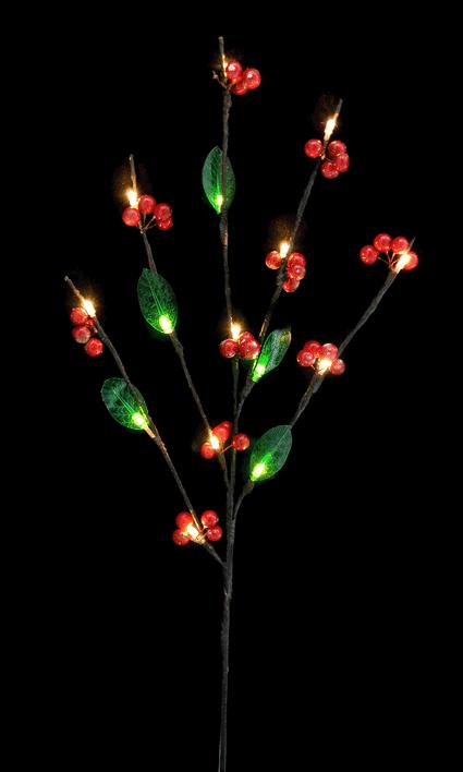 Ветка светящаяся новогодняя (H-66см) DN-39055