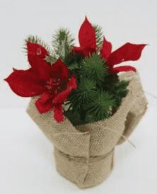 Букет-декор новогодний (H-19см) DN-51862