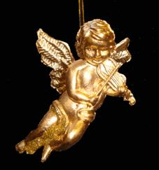 Ангел-декор новогодний (H-6см) NA-22977