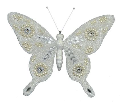 Бабочка-декор новогодний (H-25см) DN-38303