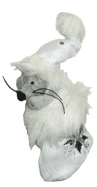 Мишка-декор новогодний (H-14см) DN-23125