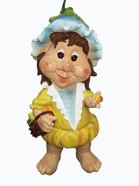 Девочка с корзиной (15*35см) - 2.26