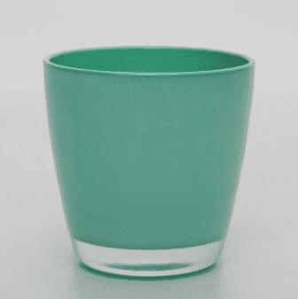 Кашпо из стекла (14*14*14см) GP-50638