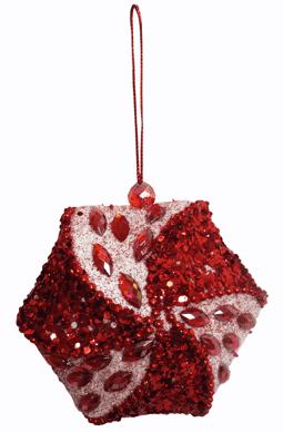Декор новогодний (d-10см) DN-37952