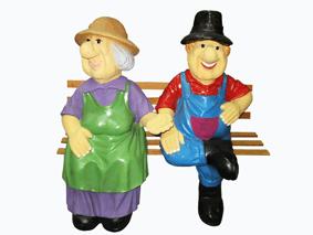 Дед с бабкой на лавке - 2.25