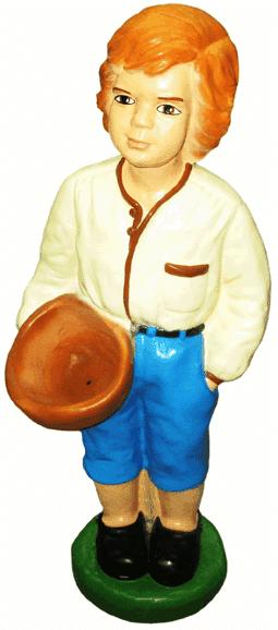 Мальчик с корзиной (H-68см) 2.42