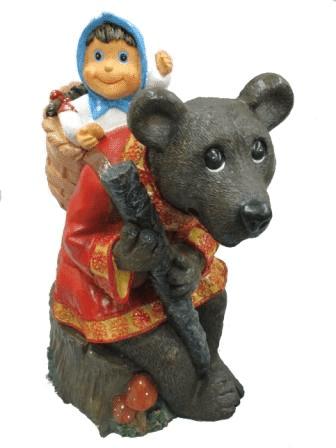 Маша и медведь-фигура (H-53см) - 6.05