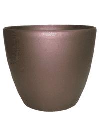 Кашпо (d-12/h-11см) цвет:коричневый PK-35950