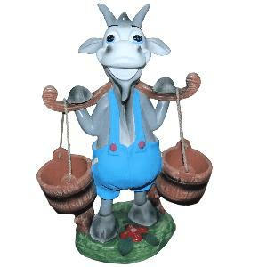 Козлик с вёдрами - кашпо (52*38см) - 20,85