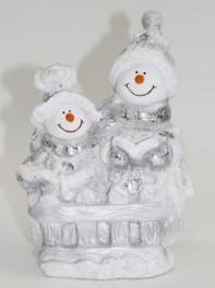 Снеговик - фигура (H-21см) - 30.47