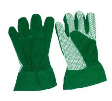 Перчатки садовые 70363 в комплекте 10 пар одного вида
