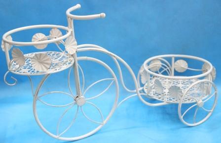 Велосипед-подставка д/цветов (62*25*40см) MF-51137