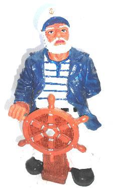 Моряк со штурвалом (H-50см) 2.36