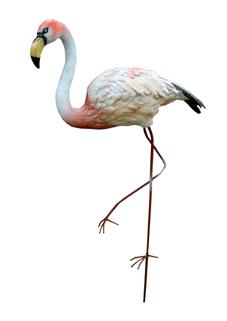 Фламинго на металлических ногах (H-73см) - 12.64