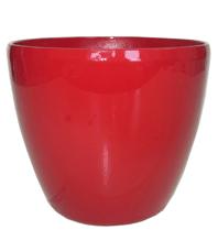 Кашпо (d-12/h-11см) цвет:красный PK-35949