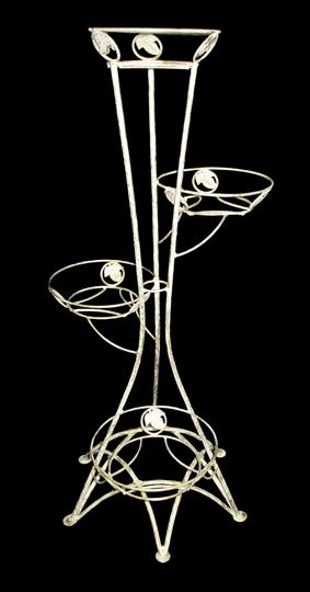 Подставка д/цветов на 4цв. 40-1239/W