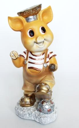 Свинка с мячиком (H-42см) - 14.19A