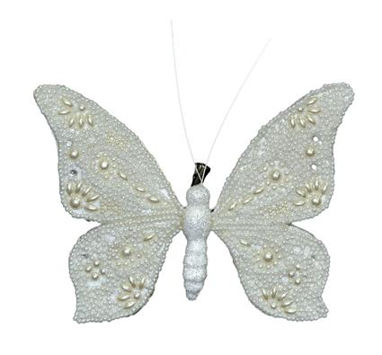 Бабочка-декор новогодний (H-20см) DN-38302