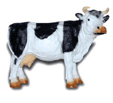 Корова 16.01 - фигура садовая (45*64см)