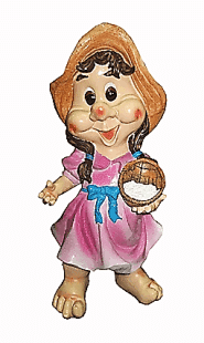 Девочка с корзинкой 1.29(17*37см)