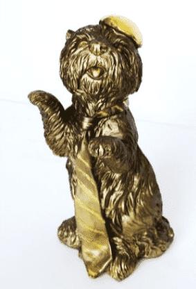 Собака с поднятой лапой (16*30см) GF6-05