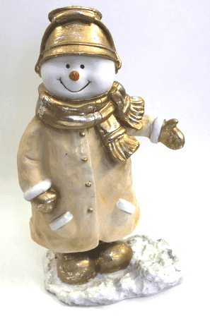 Снеговик - фигура (H-60см) - 30.89