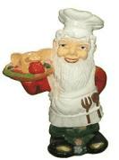 Гном-повар 1.15 - фигура садовая (75 см)