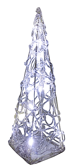 Декор новогодний светящийся (H-30см) DN-38652