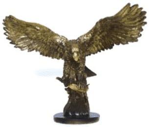 Орёл на охоте (34*46*26см) GF2-05