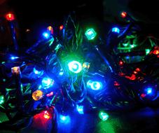 Электрогирлянда цвет: мульти DN-39051